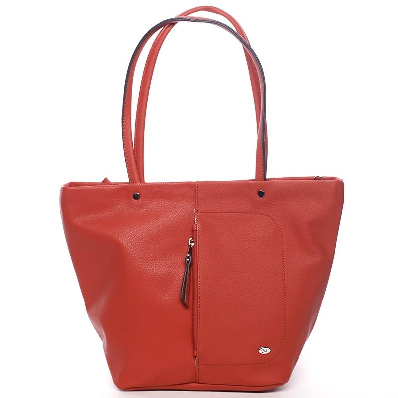 Dámska kabelka David Jones Marny - červená
