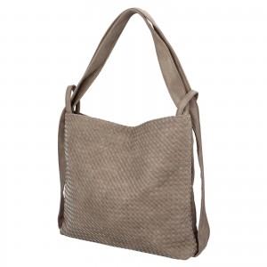 Dámska kabelka cez rameno Paolo Bags Norra - šedá
