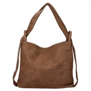 Dámska kabelka cez rameno Paolo Bags Norra - béžová