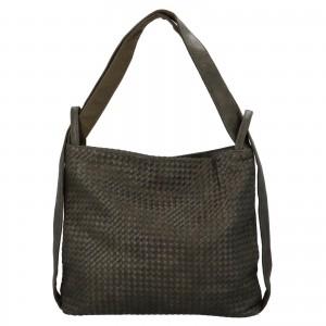Dámska kabelka cez rameno Paolo Bags Norra - zelená