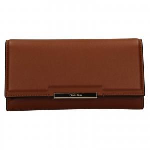 Dámska peňaženka Calvin Klein Deltea - hnedá