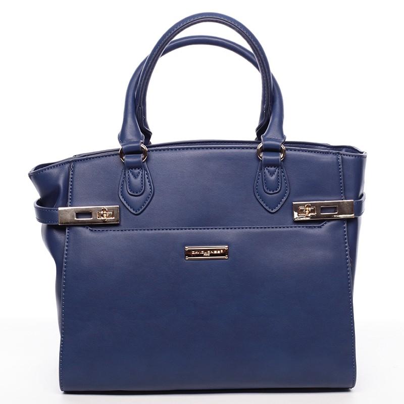 Dámska kabelka David Jones Almas - modrá