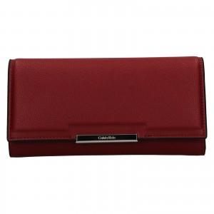 Dámska peňaženka Calvin Klein Deltea - vínová