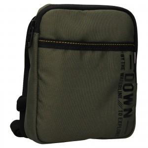 Pánska taška cez rameno Lerros Nevis - zelená