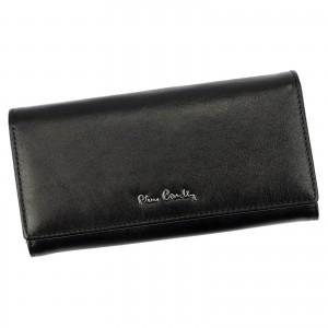 Dámska kožená peňaženka Pierre Cardin Kamillo - čierna