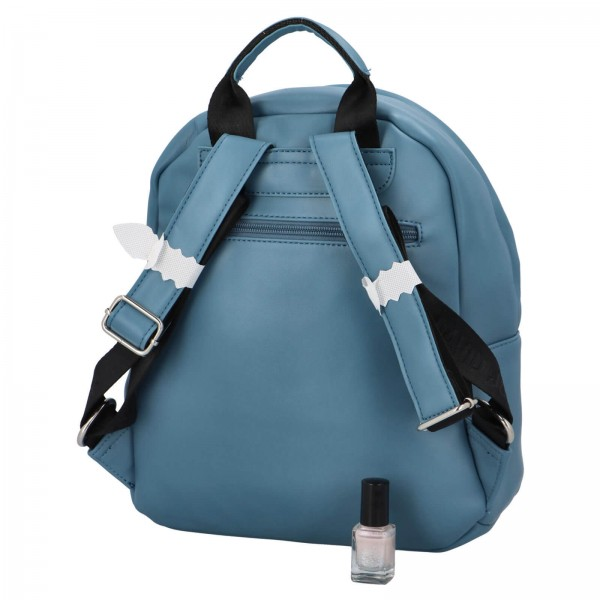 Módny dámsky batoh David Jones Izolle - modrá