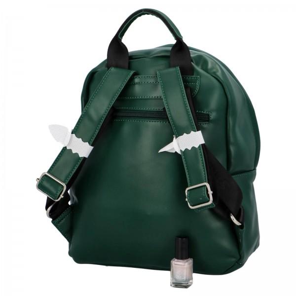 Módny dámsky batoh David Jones Izolle - zelená