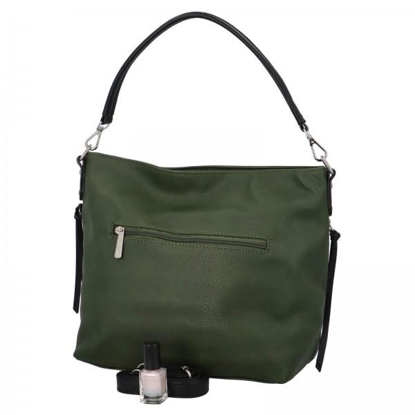 Dámska kabelka David Jones Aniala - zelená