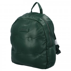 Módny dámsky batoh David Jones Maloe - zelená