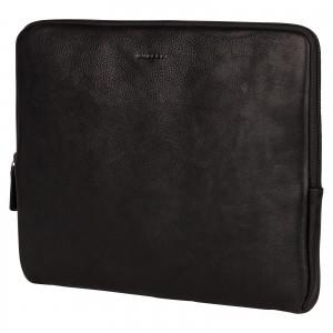 """Kožený obal na notebook 13,3"""" Burkely Lenok - čierna"""