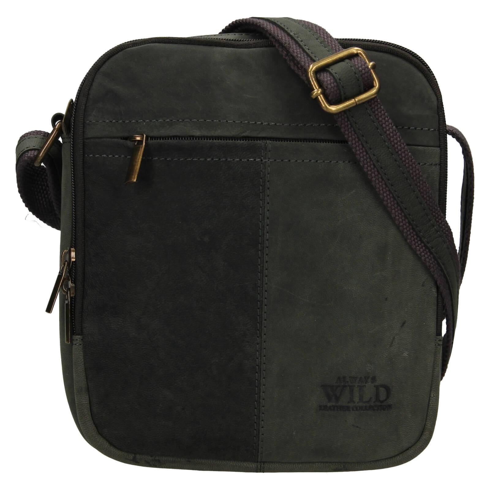 Pánská taška přes rameno Always Wild Nikolas - čierna
