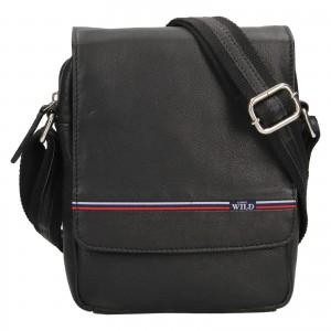 Pánská taška přes rameno Always Wild Monde - čierna