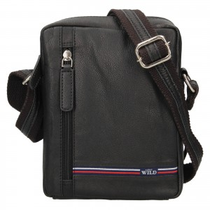 Pánská taška přes rameno Always Wild Borek - čierna