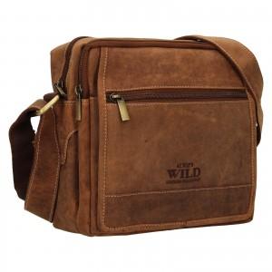 Pánska taška cez rameno Always Wild Nikoles - koňak