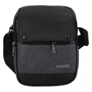 Pánska taška cez rameno Coveri World Liam - tmavo šedá