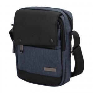 Pánska taška cez rameno Coveri World Liam - modrá