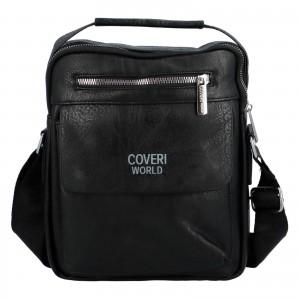 Pánska taška cez rameno Cover World William - čierna