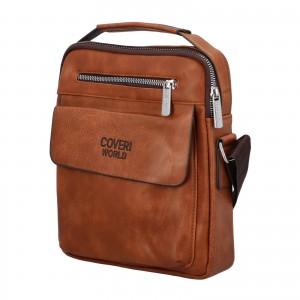 Pánska taška cez rameno Cover World William - koňak