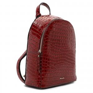 Dámsky batoh Tamaris Anastase - tmavo červená