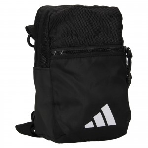 Taška cez rameno Adidas Chris - čierna