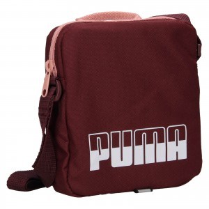 Taška cez rameno Puma Alex - vínová