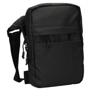 Pánska taška cez rameno 4F Jacob - čierna