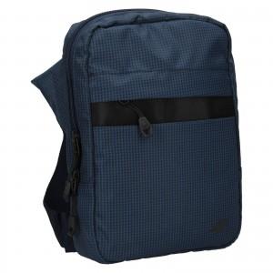 Pánska taška cez rameno 4F Jacob - modrá