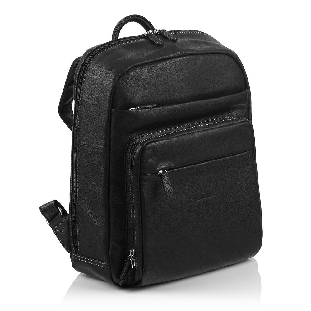 Pánsky kožený batoh Hexagona 461351