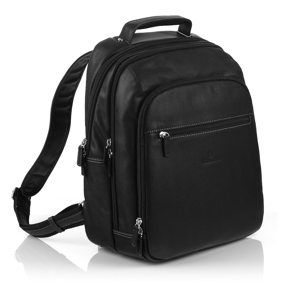 Pánsky kožený batoh Hexagona 462539