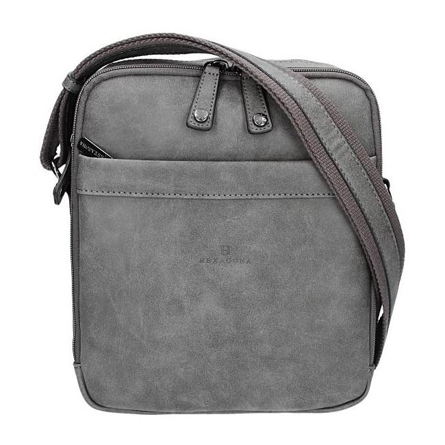 Pánska taška na doklady Hexagona 784629 - šedá