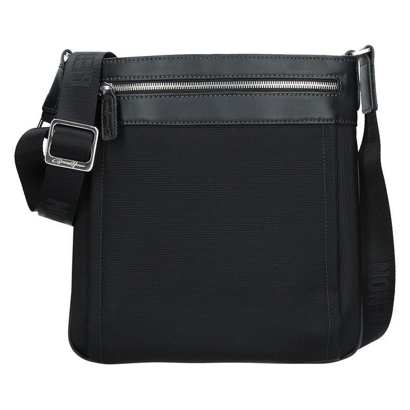 Pánská taška přes rameno Gérard Henon Noem - černá