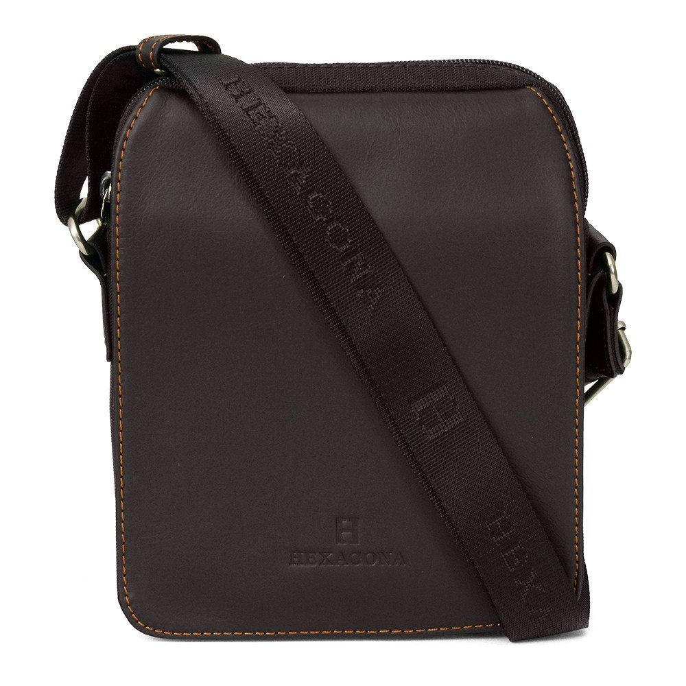 Pánska taška cez rameno Hexagona 299162 - hnedá