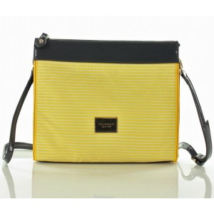 Luxusní dámské crossbody Monnari 6040Lc - žlutá