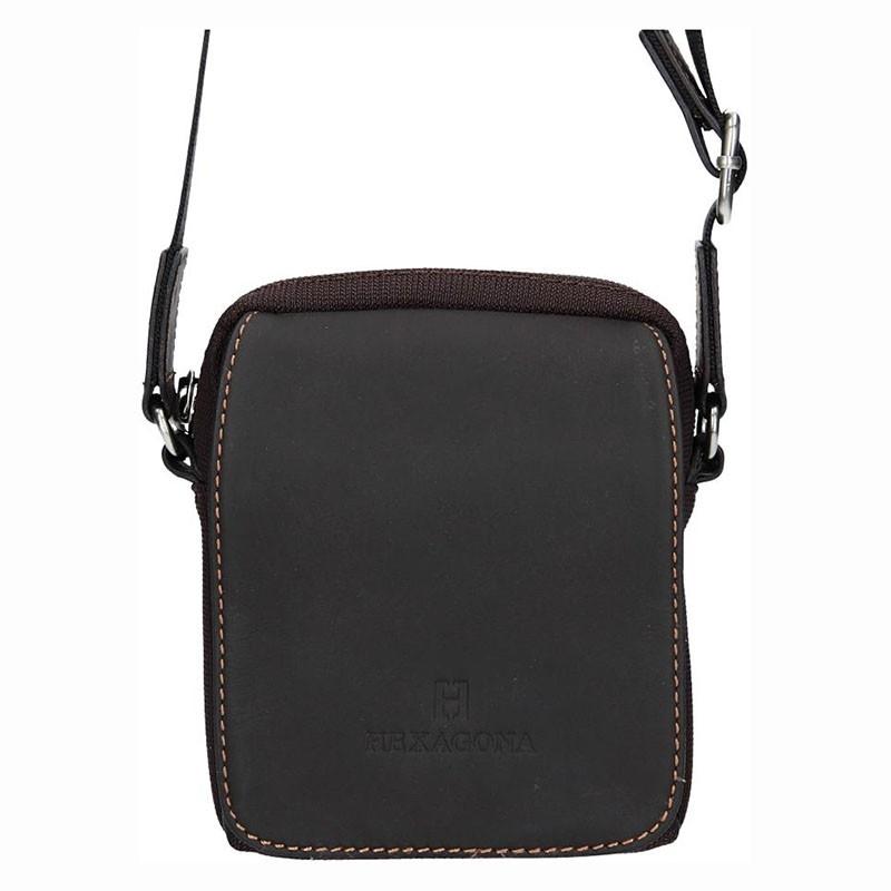 Pánska taška na doklady Hexagona Martin - hnedá