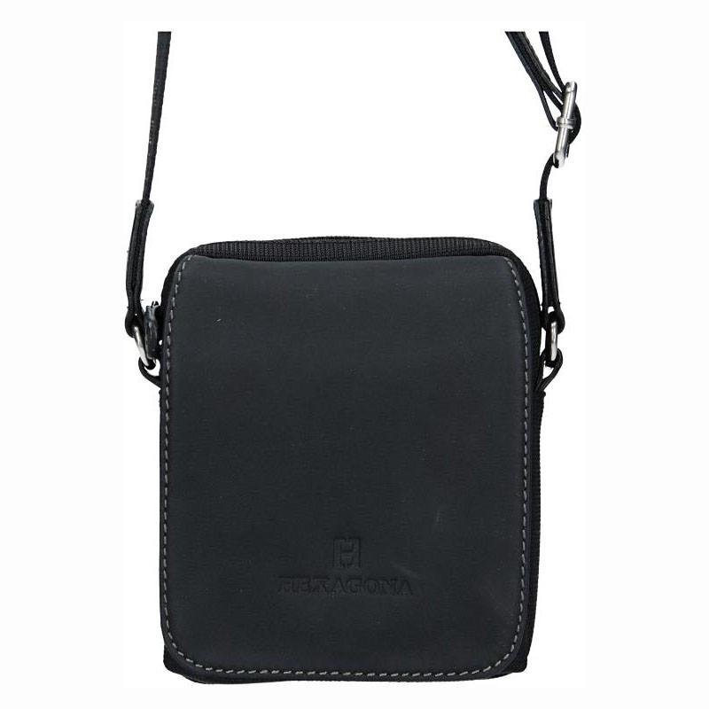 Pánska taška na doklady Hexagona Martin - čierna