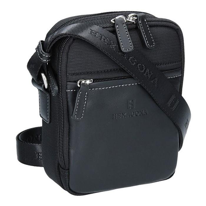 Pánska taška na doklady Hexagona 291329 - čierna