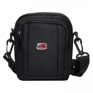 Pánská taška přes rameno New Rebels David - černá