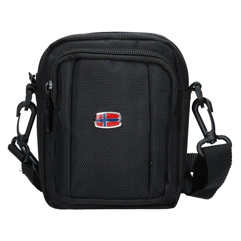 Pánska taška cez rameno New Rebels David - čierna