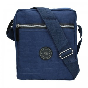 Pánská taška přes rameno New Rebels Harry - modrá