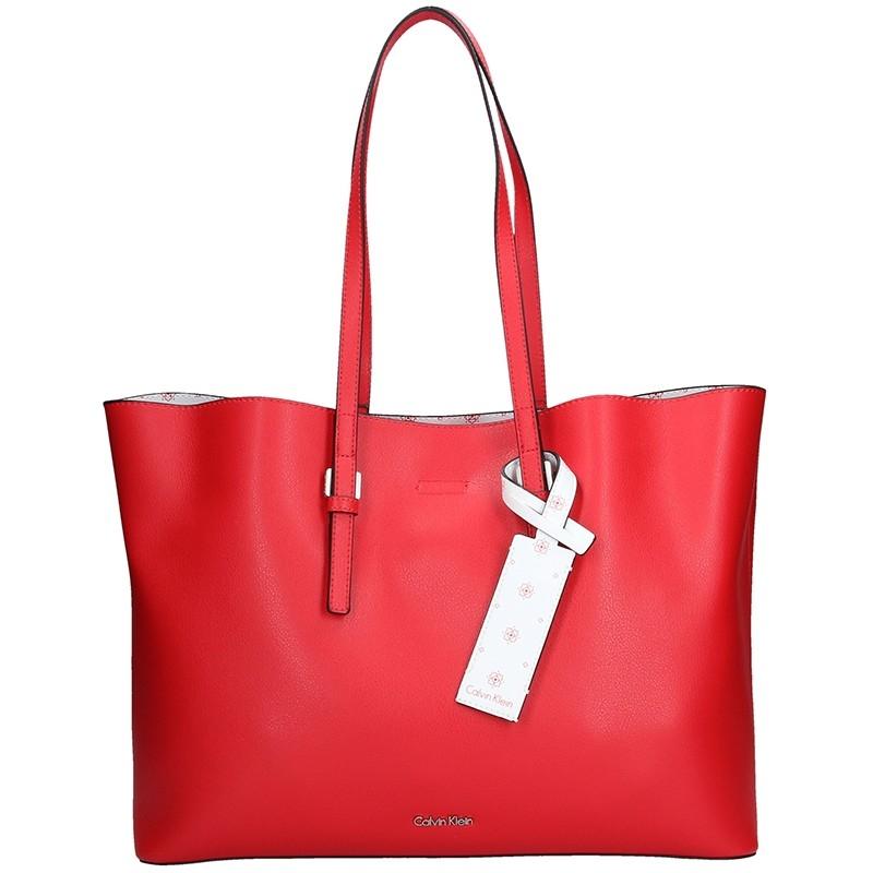 Dámska kabelka Calvin Klein Livien - červená