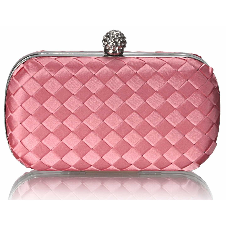 Dámska listová kabelka LS Fashion Sophie - ružová