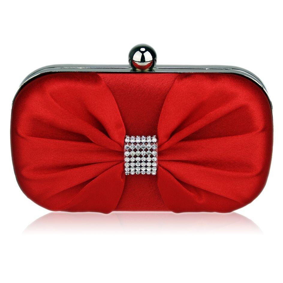 Dámska listová kabelka LS Fashion Katie - červená