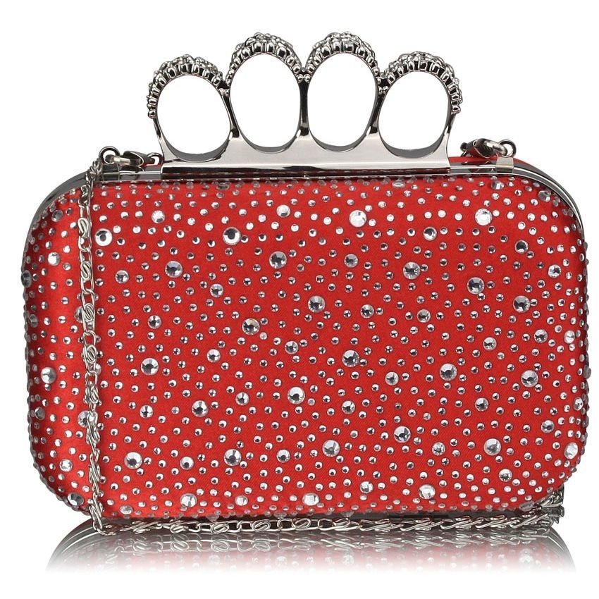 Dámska listová kabelka LS Fashion Rachel - červená
