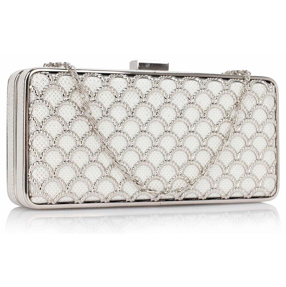 Dámska listová kabelka LS Fashion Amelia - ivory