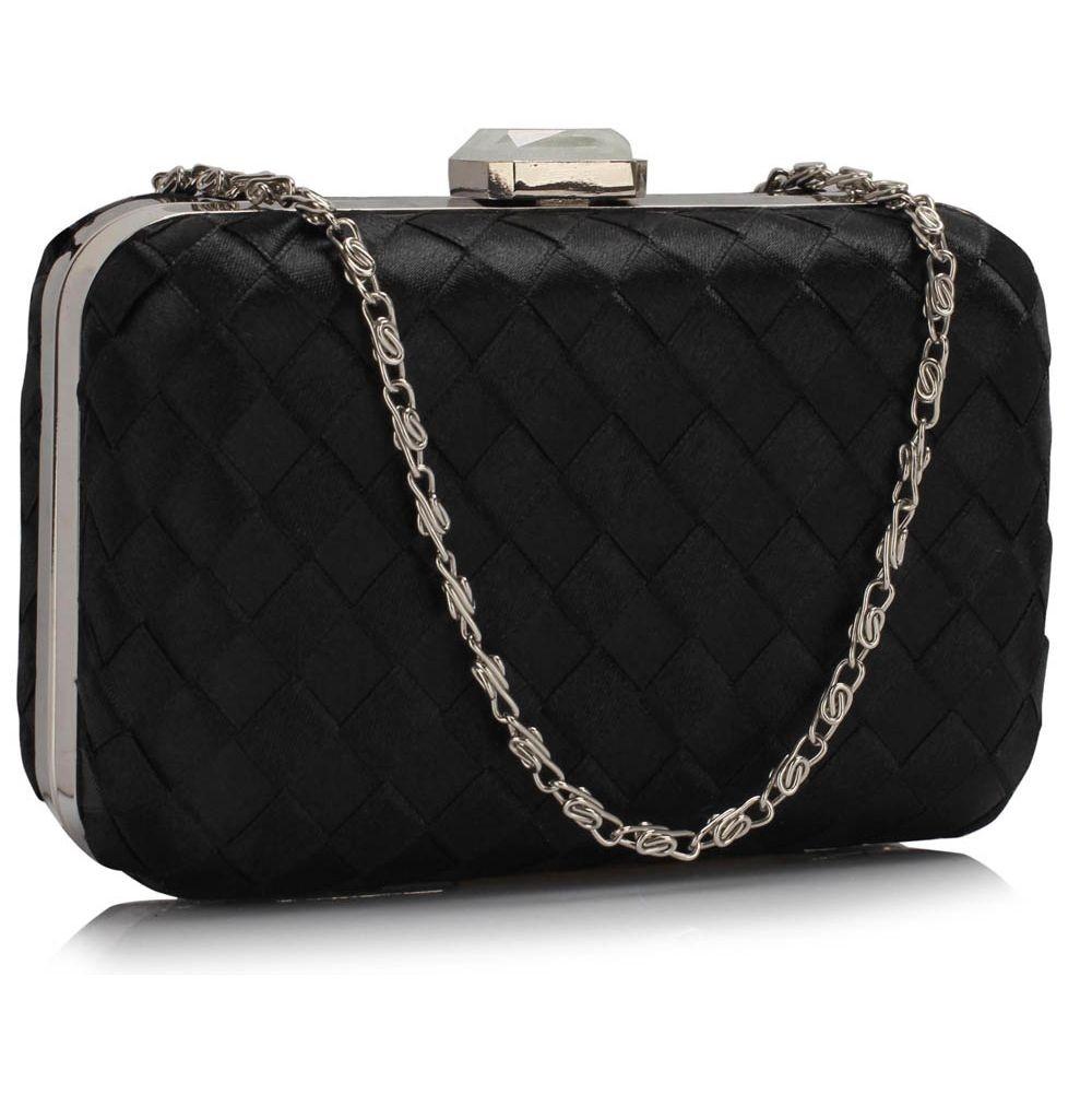 Dámska listová kabelka LS Fashion Rosie - čierna
