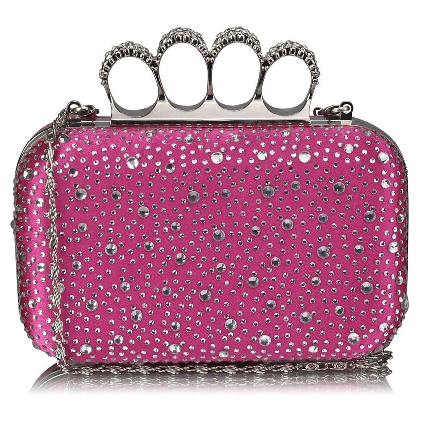 Dámska listová kabelka LS Fashion Rachel - ružová