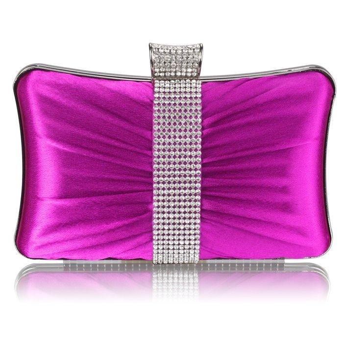 Dámska listová kabelka LS Fashion Melissa - fialová