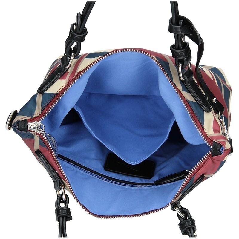 Dámská kabelka Waipuna Agnes - červeno-modrá