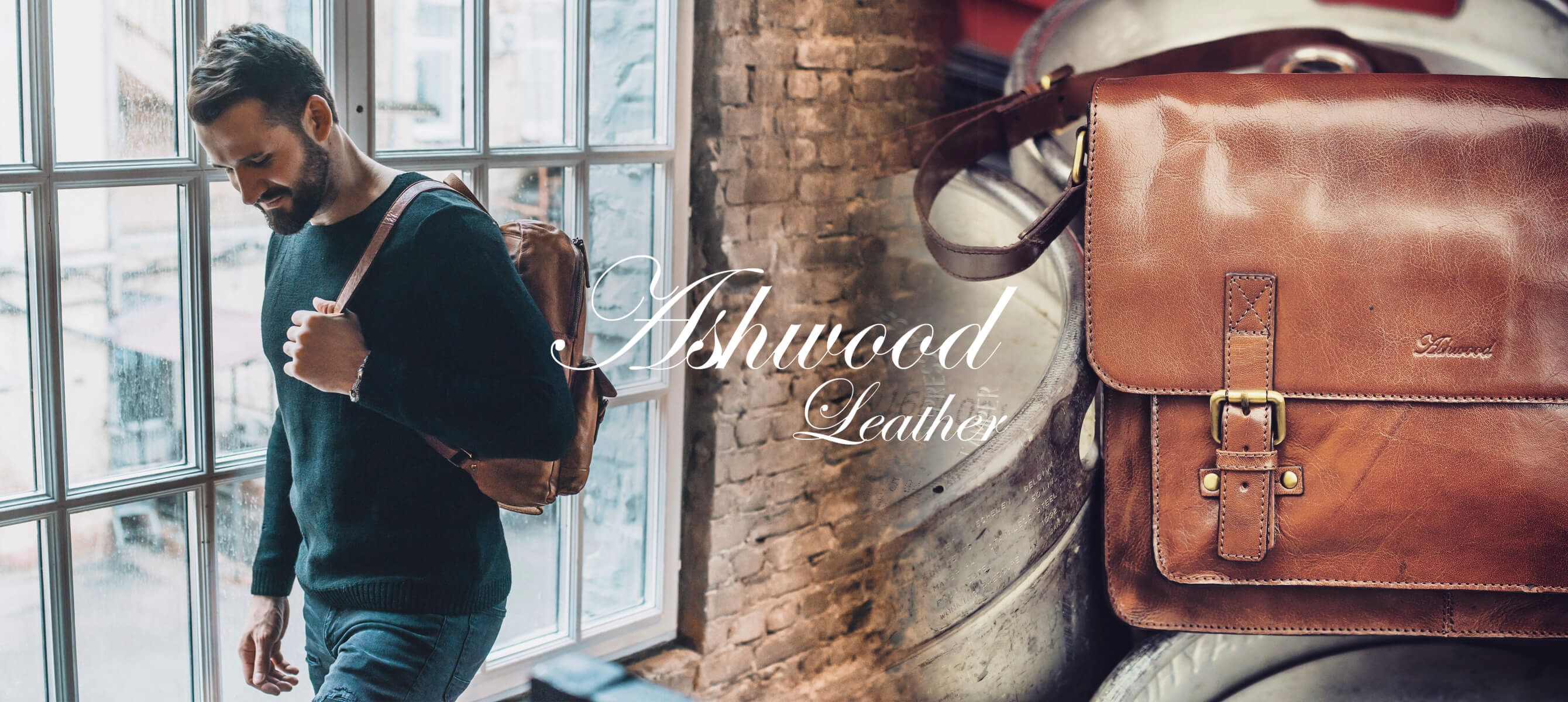 NNová značka Ashwood Leather v naší nabídce!